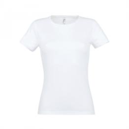 дамски памучни тениски бяла