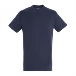 памучни тениски тъмно син