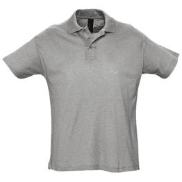 мъжки блузи сива снимка