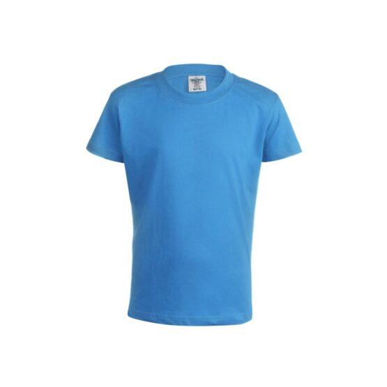 детски памучни тениски светло синя