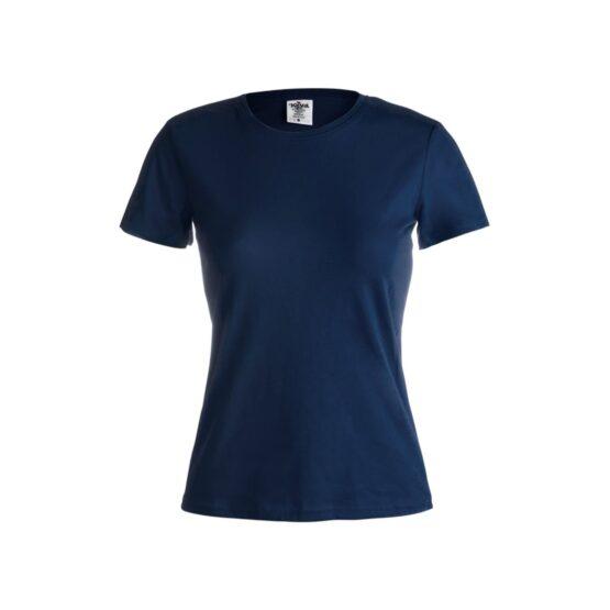 дамски памучни тениски тъмно синя