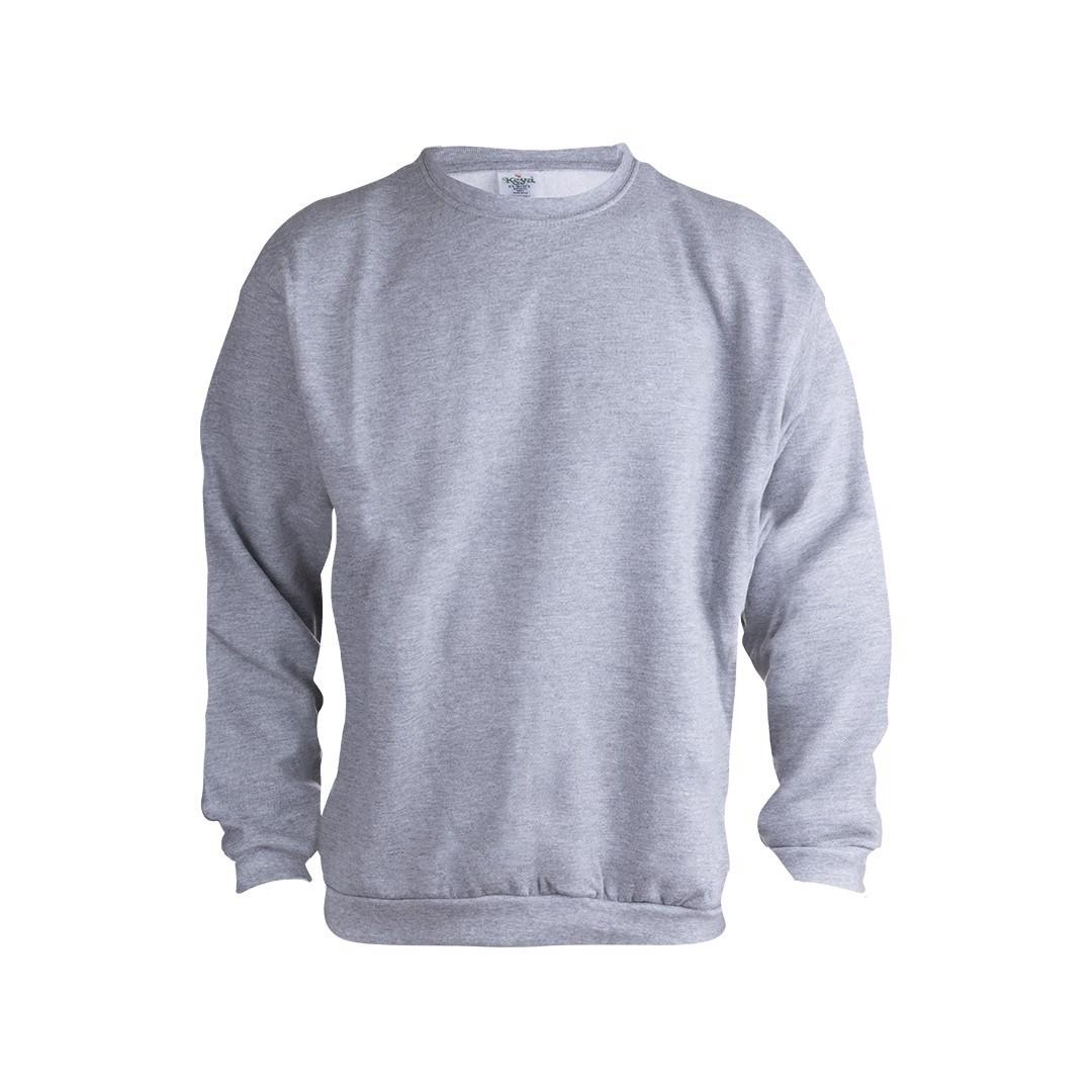 ватирани блузи с дълъг ръкав сива