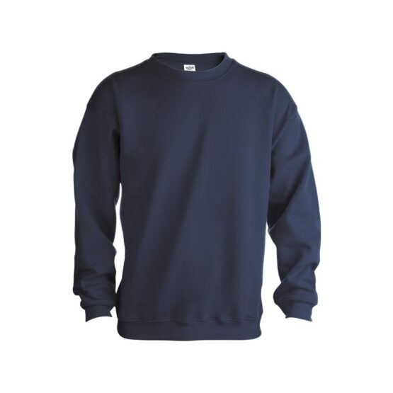 ватирани блузи с дълъг ръкав тъмно синя