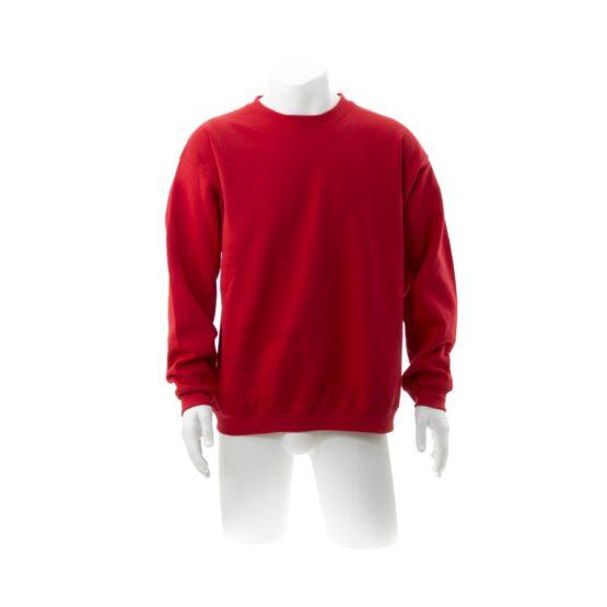 ватирани блузи с дълъг ръкав червена
